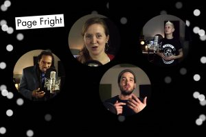 Page Fright promo