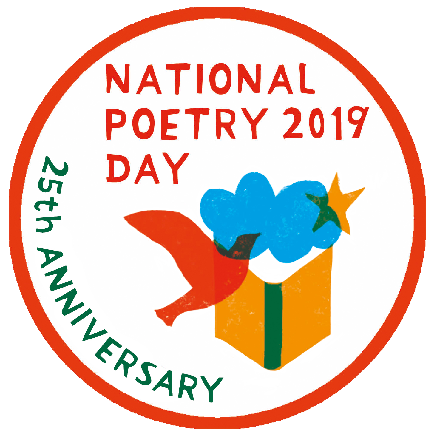 national poetry day 2019 logo